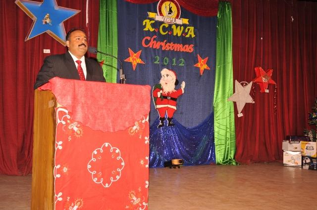 KCWA Christmas Party 2012