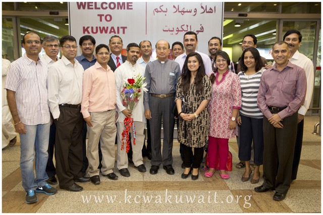 Bishop of Udupi: Rev. Dr. Gerald Isaac Lobo in Kuwait