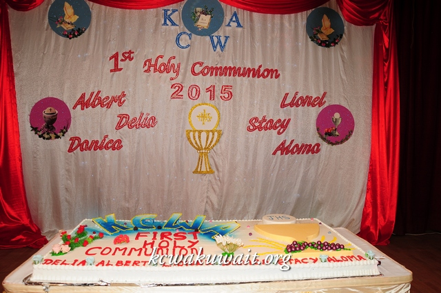 KCWA First Holy Communion 2015