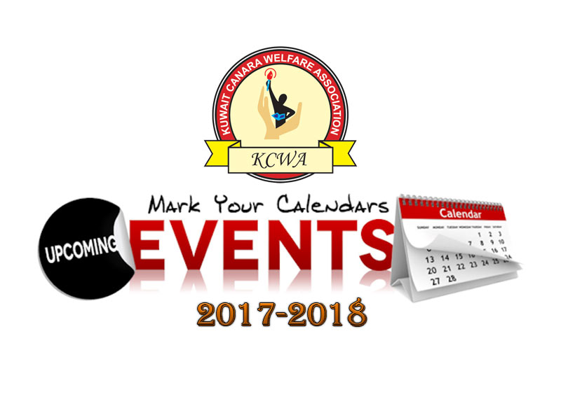 Calendar of Events 2017-2018