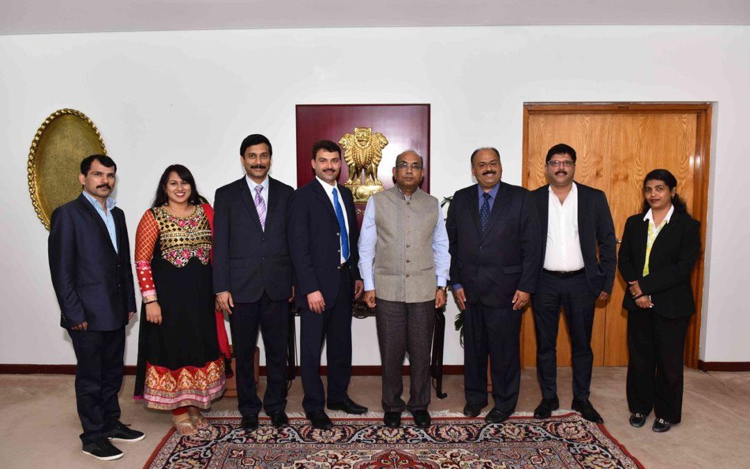 KCWA Managing Committee met Indian Ambassador His Excellency Shri Sunil Jain