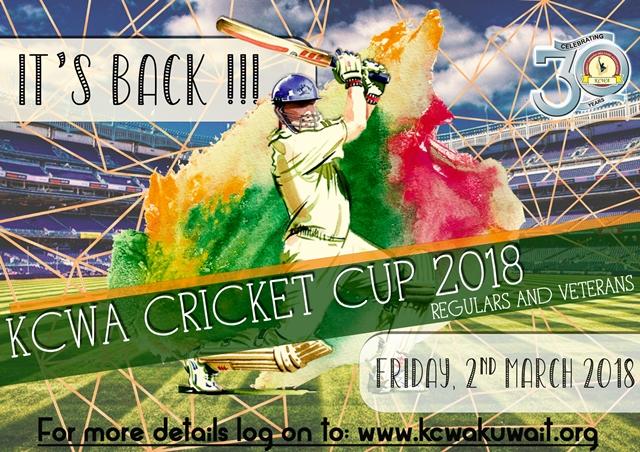 KCWA Cricket Cup 2018