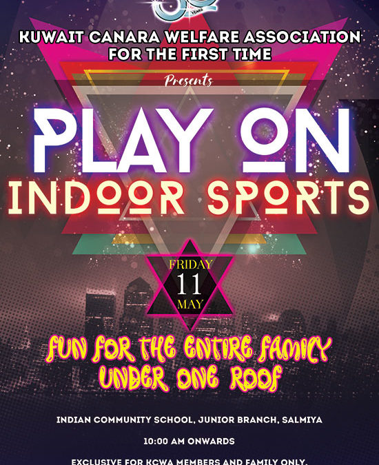 KCWA Play on Indoor Sports – Register Now