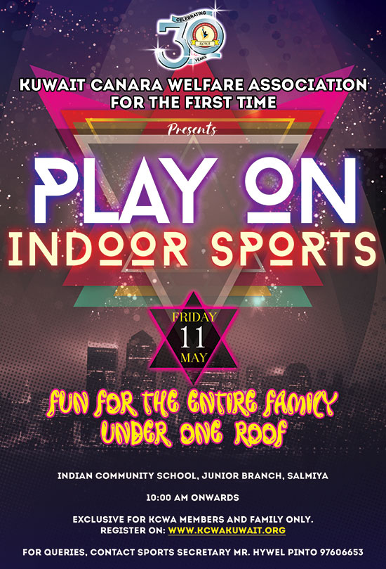 KCWA Play on Indoor Sports - Register Now